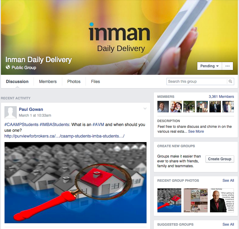 Inman daily delivery